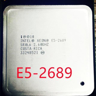 Cpu Intel xeonE5-2689 E5-2690_E5-2696v2