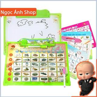 [Na Shop] [Mã TOYDEC giảm 10% tối đa 15K đơn từ 50K] Bảng học điện tử thông minh 11 chủ đề Anh – Việt cho bé co