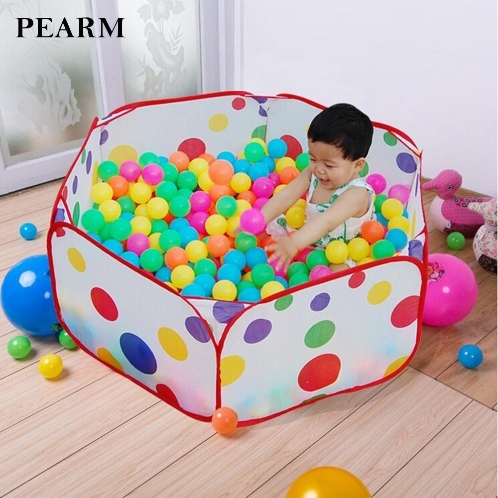 New Children Game Play Toy Tent Hexagon Ocean Ball Pit Pool Outdoor Play Fresh