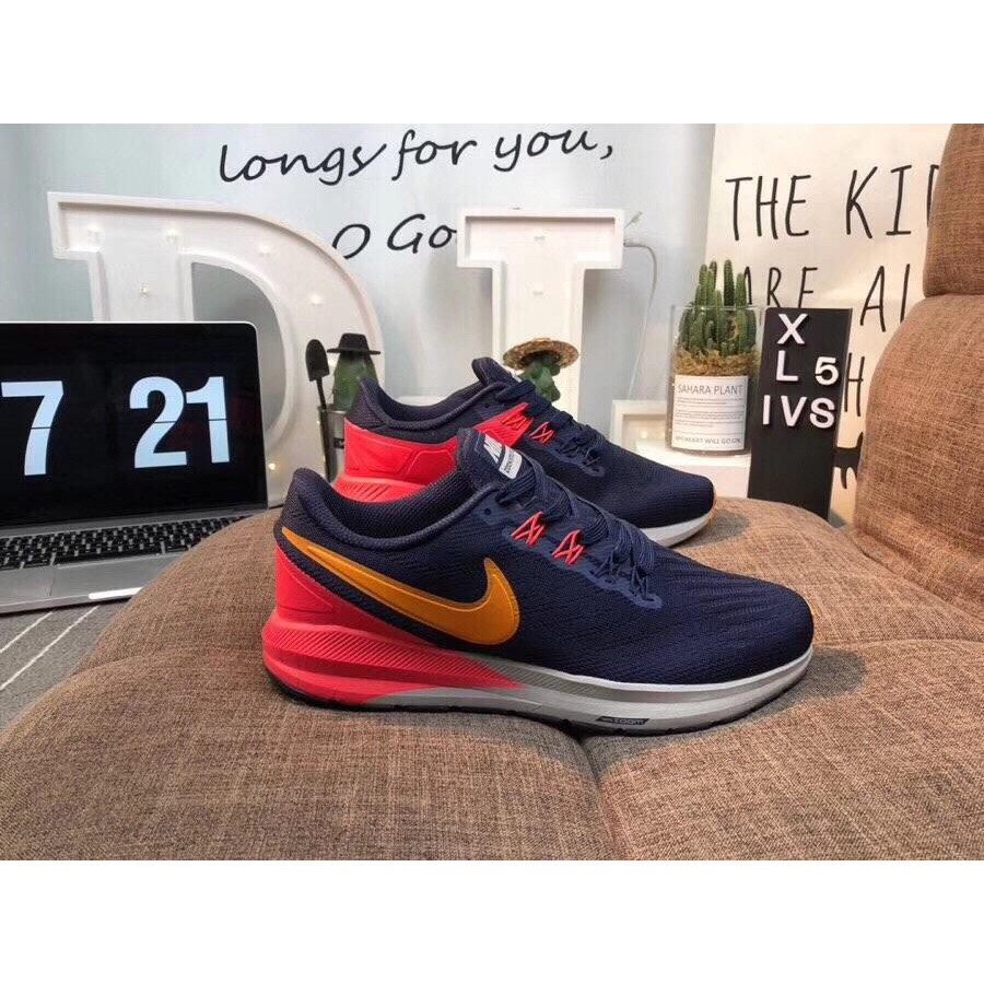 Nike Air Zoom Structure 22 generation built-in Nike original air cushion lightweight breathable casual running shoes