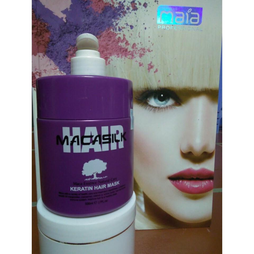 Hấp Dầu siêu mượt phục hồi tóc macasilk keratin 500ml - 2886964 , 198069058 , 322_198069058 , 560000 , Hap-Dau-sieu-muot-phuc-hoi-toc-macasilk-keratin-500ml-322_198069058 , shopee.vn , Hấp Dầu siêu mượt phục hồi tóc macasilk keratin 500ml