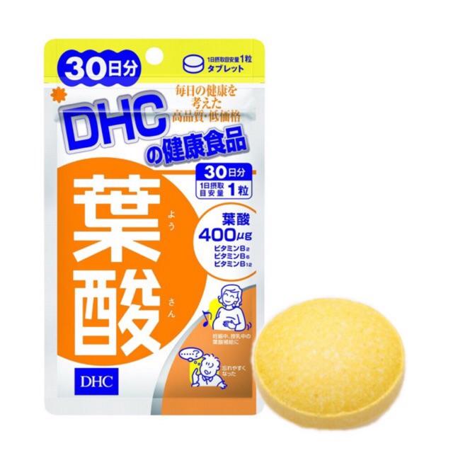 Viên Uống Vitamin Dành Cho Bà Bầu DHC Folic Acid 30viên/gói