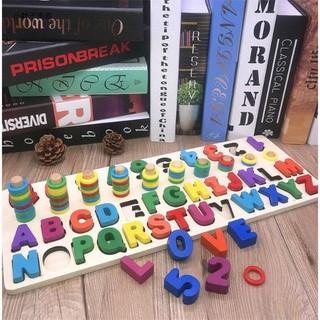 Bảng học chữ cái tiếng việt , chữ cái tiếng anh và số