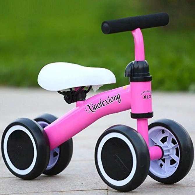 Xe đạp trẻ em- Xe đạp giá rẻ-Xe Chòi Chân 4 Bánh Tự Cân Bằng Cho Bé -dc3117