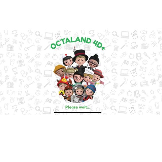 OCTALAND 4D- Thẻ nghề nghiệp thực tế ảo