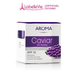 Kem dưỡng da ban ngày chiết suất trứng cá AROMA Caviar Skin Therapy Cream chống lão hóa, trẻ hóa da 50ml thumbnail
