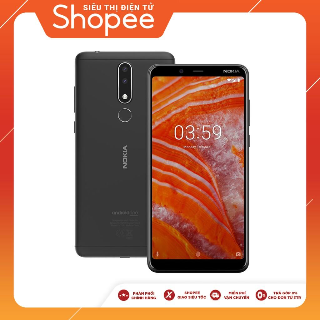 [Trả góp 0% - Nhập ELNOKIA31, Giảm Thêm 500k] Điện thoại Nokia 3.1 plus - Hàng chính hãng