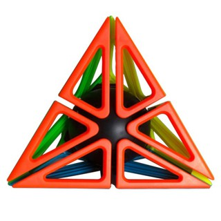 Creative Pyramid Magic Puzzle Cube Frame Twist Puzzle Adult Kids Educational Toy