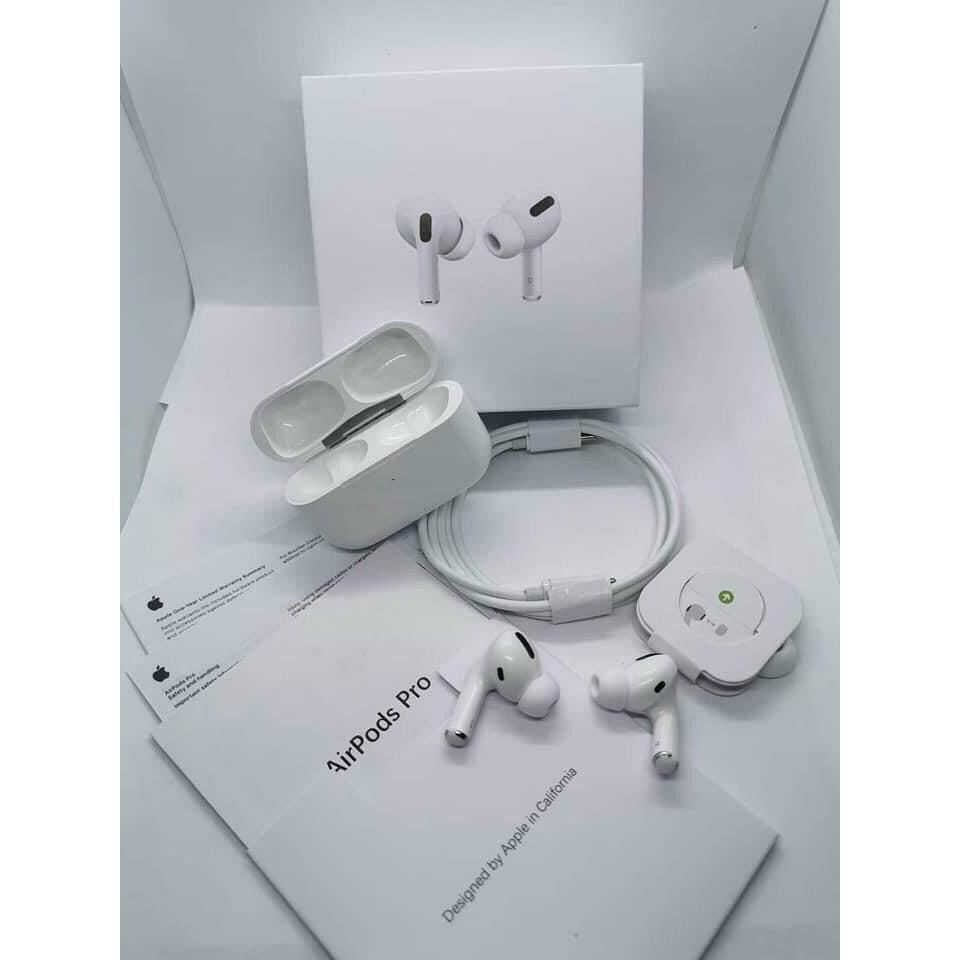 Tai Nghe Bluetooth AIRPODS PRO 💕 Công Nghệ Chipset Âm Thanh Mới 💕 Chống Ồn Xuyên Âm Đổi Tên Định Vị Tháo Tai Dừng Nhạc
