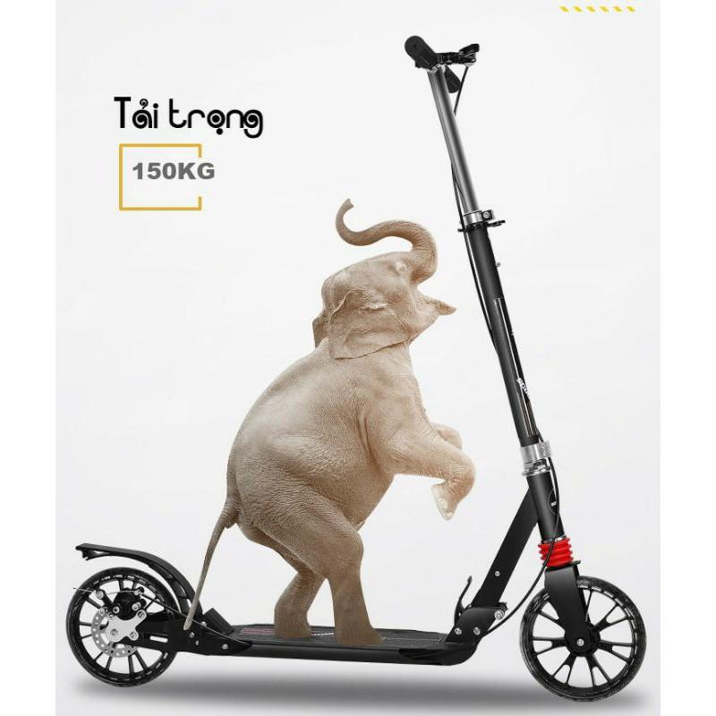 xe scooter cao cấp dành cho người lớn(tải trọng 150kg)
