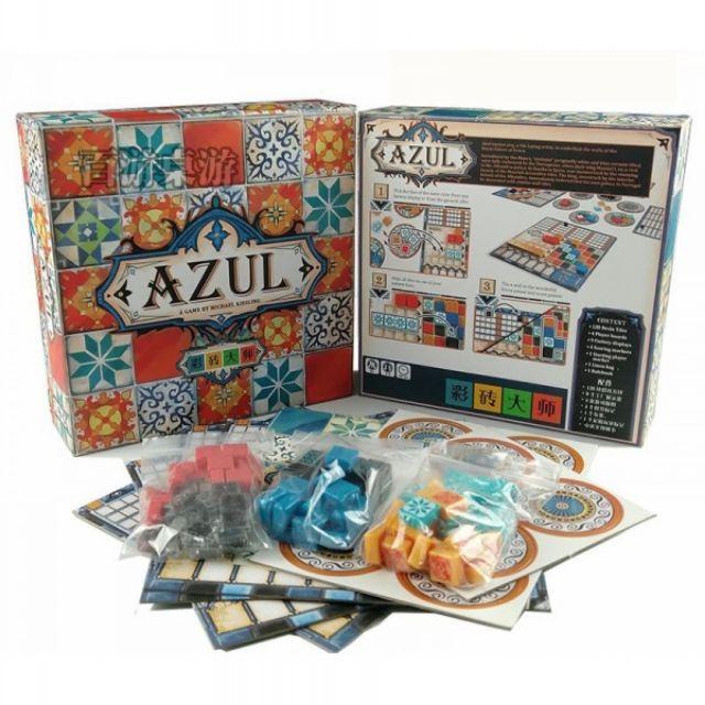 Trò chơi Boardgame Azul - Bản Tiếng Anh (Eng)