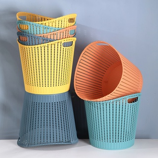 JUJIAJIA PP Large Capacity Wide Opening Hollow Load-Bearing Stacked Laundry Basket