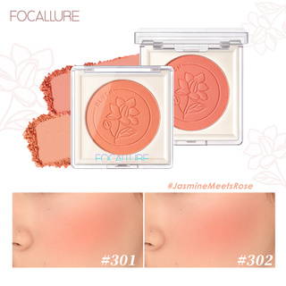 Focallure Natural High Pigment JasmineMeetsRose Soft&Smooth Texture Durable Long-Lasting Easy To Apply Non-Cakey Blush 1pc 3.7g thumbnail