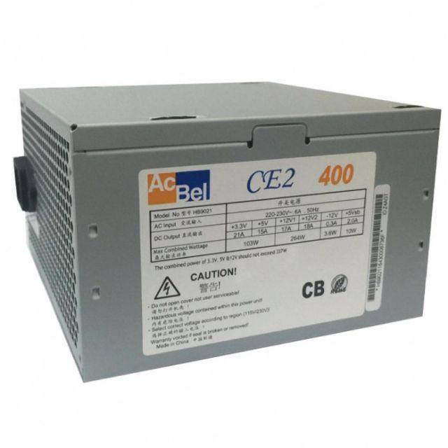 Nguồn Acbel C2 400 công suất thực.