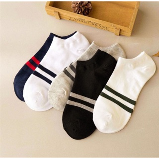 [ ĐẸP BỀN RẺ] Combo 5 đôi tất cổ ngắn Nhật Bản thấm mồ hôi, khử mùi, k bai dão