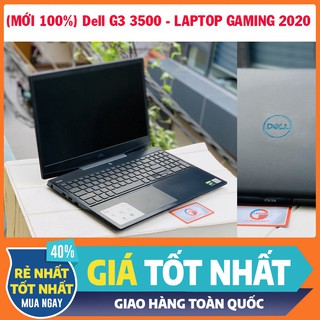 (MỚI 100%) Dell G3 3500 i5-10300H 8GB RAM 256GB SSD GTX 1650 4GB, laptop chơi game đồ họa thumbnail