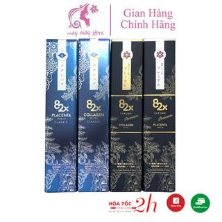 Nước Uống Đẹp Da Collagen 82X Sakura Premium và Placenta 82X Sakura Premium 500ml thumbnail