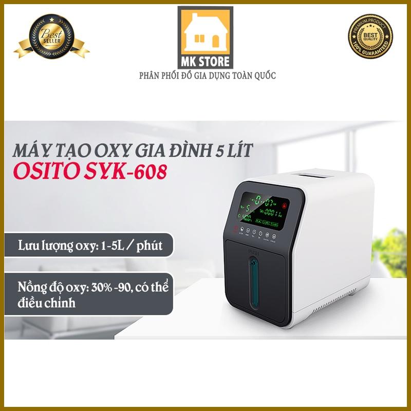 Máy tạo Oxy, Máy thở oxy y tế gia đình 5 Lít OSITO SYK-608