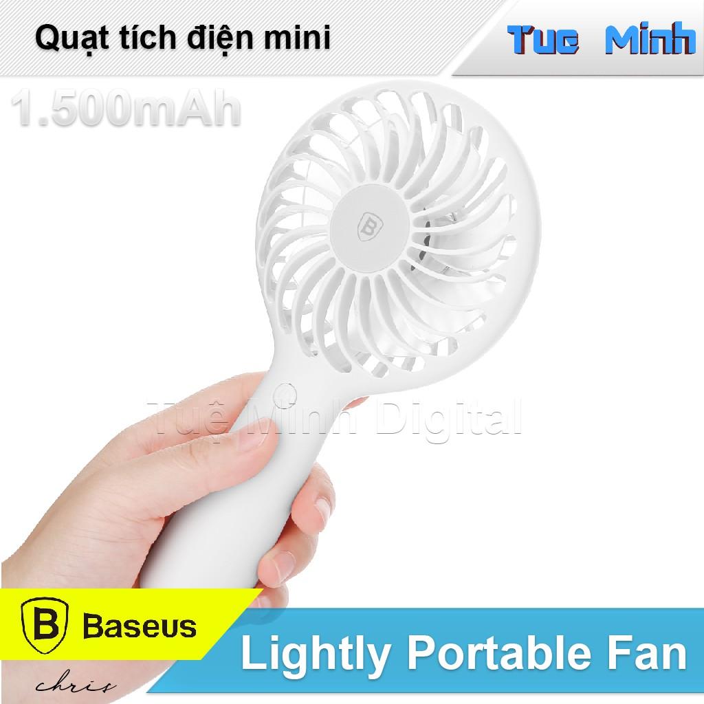 Quạt tích điện mini cầm tay Lightly Portable Fan Baseus