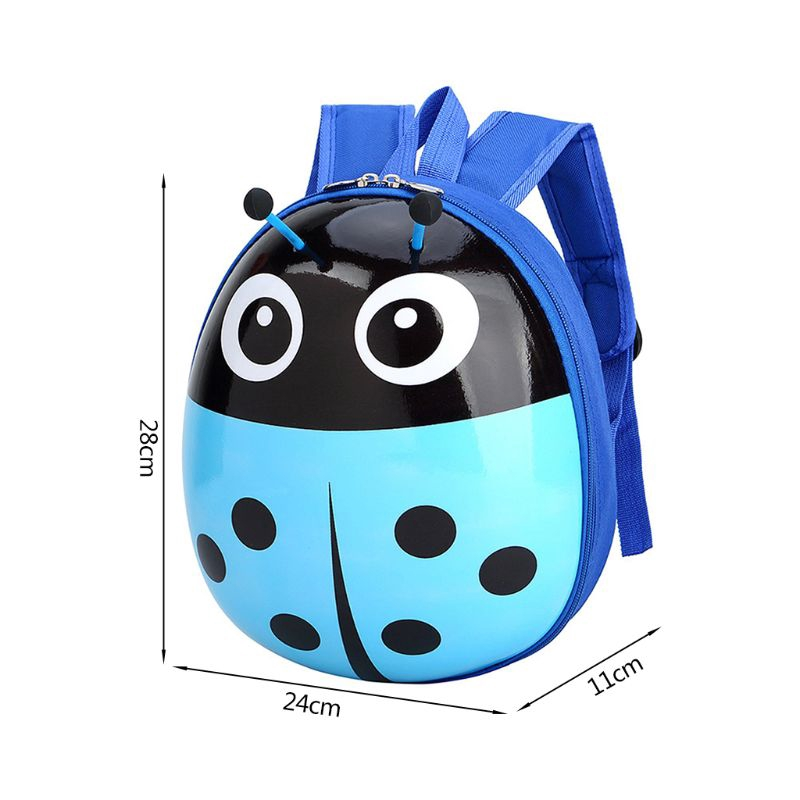Beetle-Pattern School Bag Children Kindergarten Backpack Kid Giá chỉ 132.645₫
