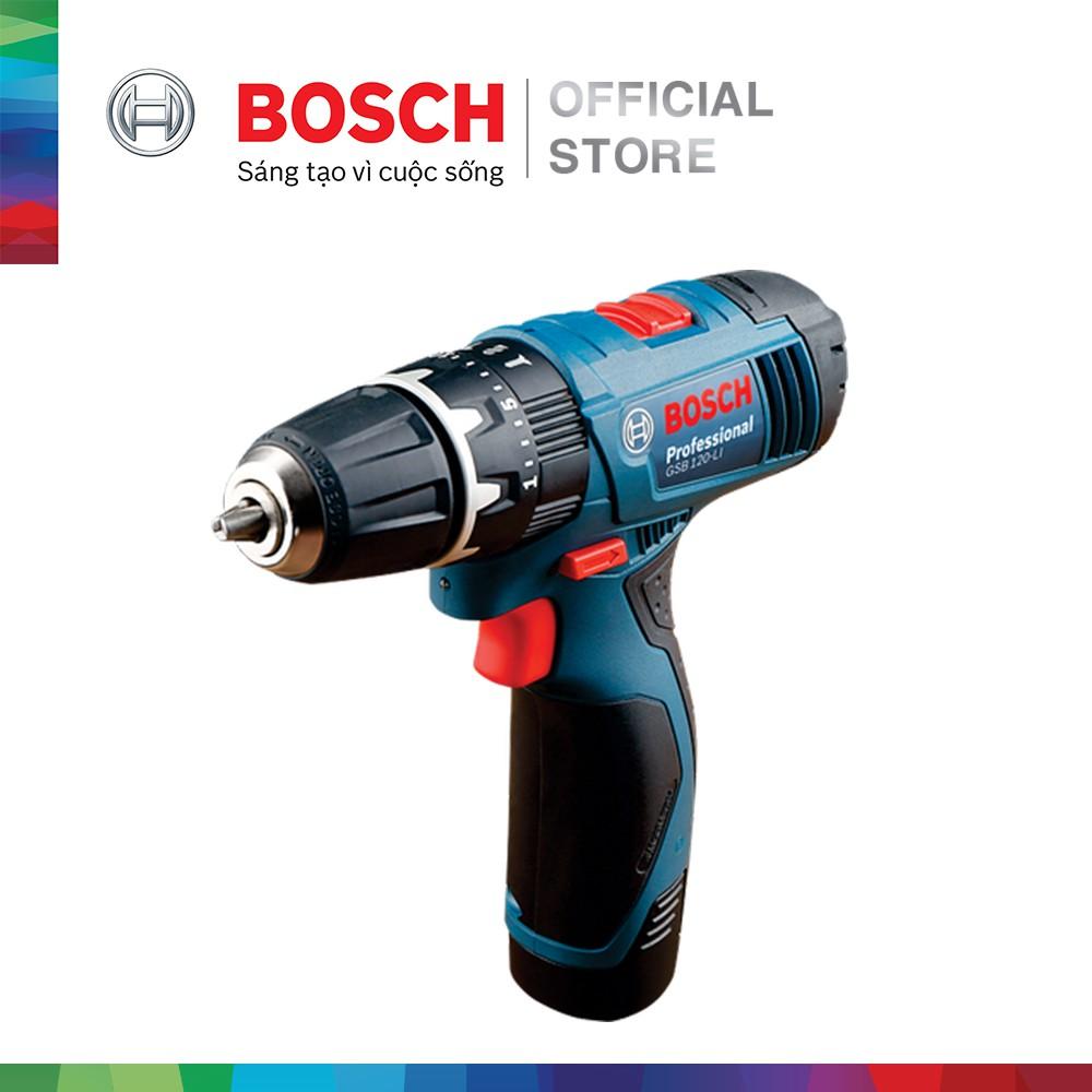 [NHẬP BOSCH10 GIẢM 10%] Máy khoan vặt vít động lực dùng pin Bosch GSB 120-LI - 3615607 , 1285081354 , 322_1285081354 , 3450000 , NHAP-BOSCH10-GIAM-10Phan-Tram-May-khoan-vat-vit-dong-luc-dung-pin-Bosch-GSB-120-LI-322_1285081354 , shopee.vn , [NHẬP BOSCH10 GIẢM 10%] Máy khoan vặt vít động lực dùng pin Bosch GSB 120-LI