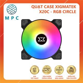 Quạt Case XIGMATEK X20C – RGB CIRCLE – Chính hãng Mai Hoàng – Bảo hành 6 tháng