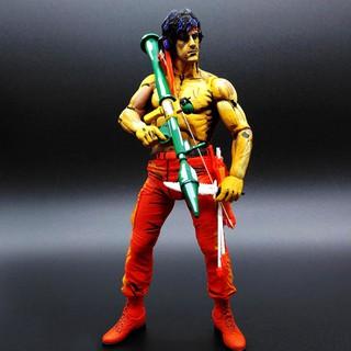 Mô hình Rambo Stallone Neca Rambo First Blood