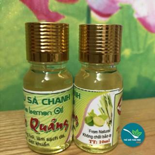 Tinh dầu sả chanh Phước Quảng tự chọn thơm nguyên chất 10ml - TM401 thumbnail