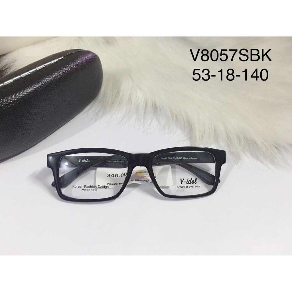 Giá bán Gọng Kính Cận Nhựa Dẻo Chính Hãng Vidol V8057Sbk