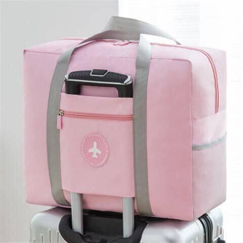 กระเป๋าเดินทางกระเป๋าสัมภาระกระเป๋ารถเข็นแพ็คความจุขนาดใหญ่