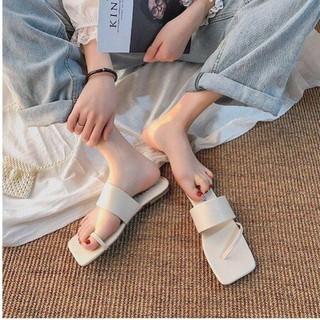 Dép nữ sỏ ngón thời trang Hàn Quốc HGD23, dép bán mì, dép lê nữ quý phái thumbnail