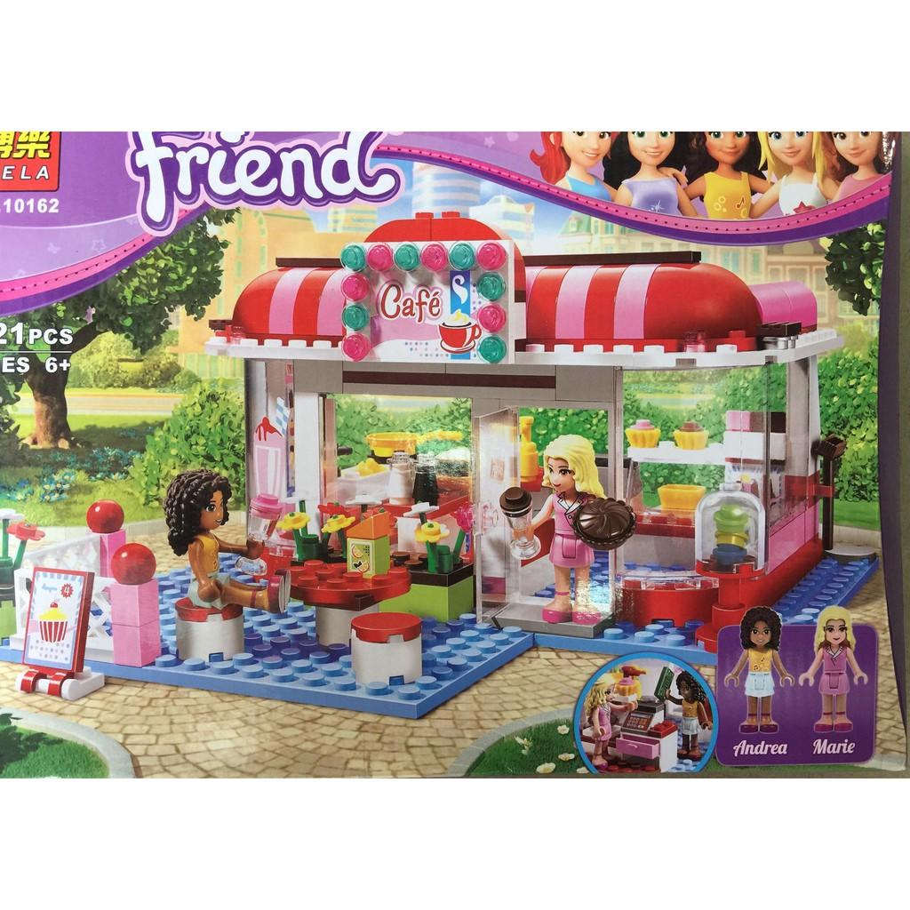 Lego Friends quán cà phê – 10162