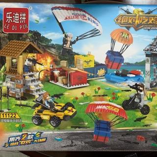 Lego xếp hình PUBG LEDIPIN 11122