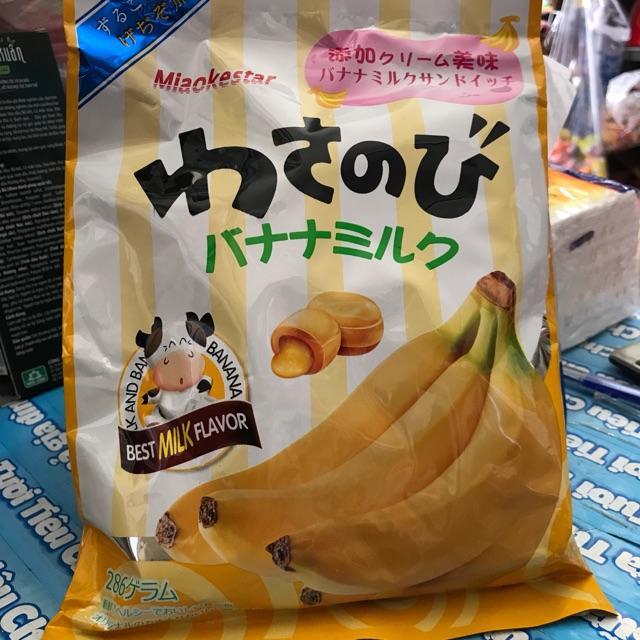 Kẹo chuối Miaokestar 286g