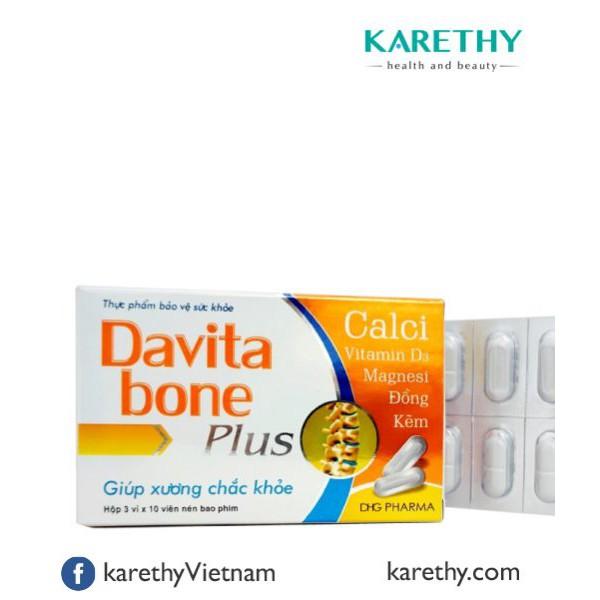 Davita Bone Plus: Bổ Sung Canxi, Vitamin D Cho Xương Chắc Khỏe (30 viên) - 3113193 , 1347386637 , 322_1347386637 , 36000 , Davita-Bone-Plus-Bo-Sung-Canxi-Vitamin-D-Cho-Xuong-Chac-Khoe-30-vien-322_1347386637 , shopee.vn , Davita Bone Plus: Bổ Sung Canxi, Vitamin D Cho Xương Chắc Khỏe (30 viên)