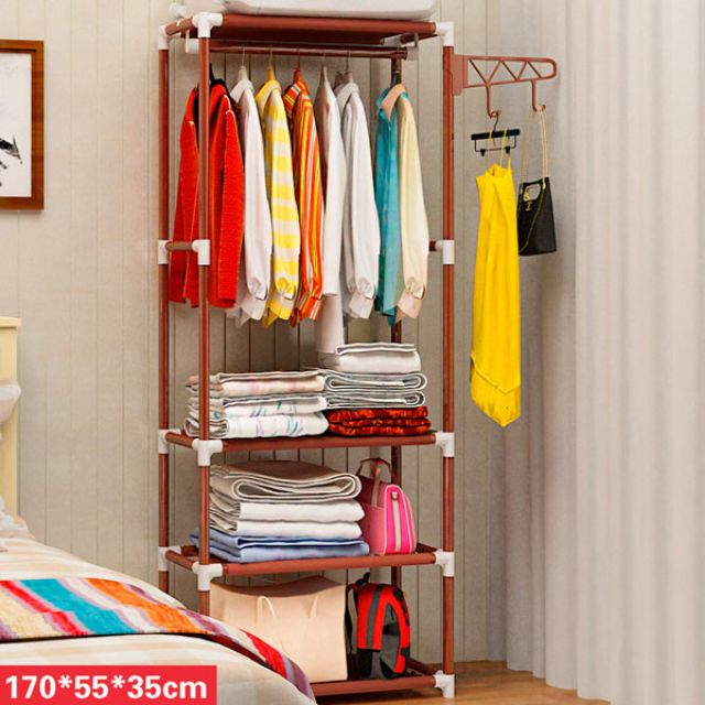 Kệ treo quần áo 4 tầng 3