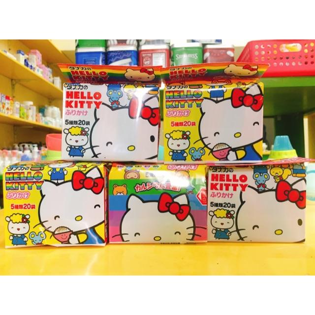 Gia vị rắc cơm thập cẩm Hello Kitty 50g Nhật Bản