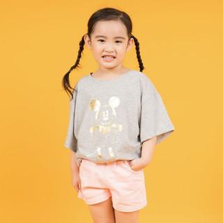 Áo thun Mickey ngắn tay bé gái Rabity 5127.5216