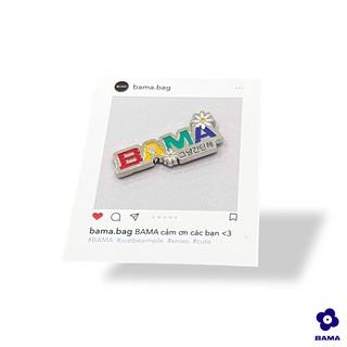 Pin BAMA® Daisy - Phụ kiện thời trang cài áo, balo dễ thương