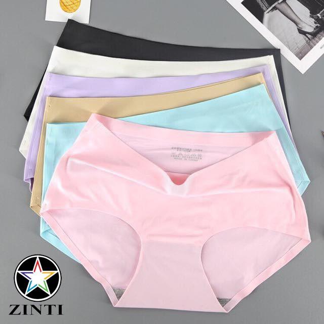 Quần lót nữ, quần mặc trong váy cotton co dãn cực mềm mịn Zinti