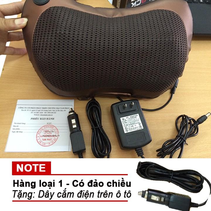 Gối massage hồng ngoại 8 quả cầu Tặng dây cắm điện trên ô tô - 2485553 , 84454810 , 322_84454810 , 429000 , Goi-massage-hong-ngoai-8-qua-cau-Tang-day-cam-dien-tren-o-to-322_84454810 , shopee.vn , Gối massage hồng ngoại 8 quả cầu Tặng dây cắm điện trên ô tô