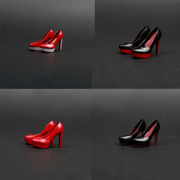 1:6 Sexy High Heels for 30cm Phicen Verycool Hotstuff Jodoll Action Figure DIY Insole Random Color