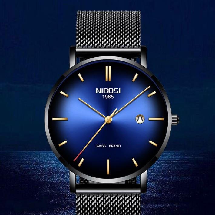 [Tặng vòng tay] Đồng hồ nam NIBOSI NI2362.01 fullbox chính hãng thời trang cao cấp