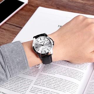 Đồng hồ nam dây da Casio MTP-V004L-7AUDF chính hãng