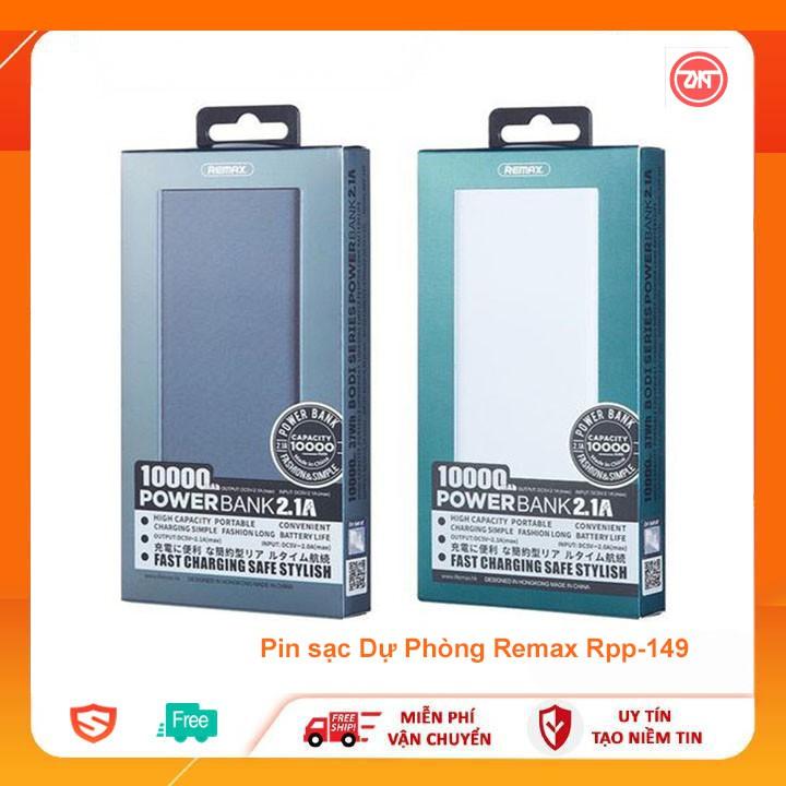 Pin dự phòng remax rpp-149 dung lượng 10000mAh 2 cổng usb
