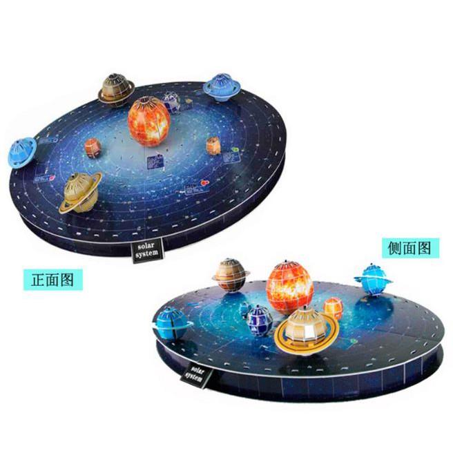 Đồ chơi lắp ráp, địa lý -BỘ LẮP GHÉP MÔ HÌNH 3D CÁC HÀNH TINH TRONG HỆ MẶT TRỜI