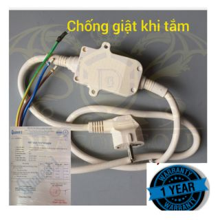 Dây chống giật bình nóng lạnh dragon gold , anti-shock wire heater