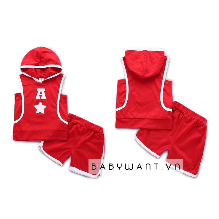 set đồ thể thao màu đỏ cho bé trai,bé gái - 3286414 , 953414023 , 322_953414023 , 115000 , set-do-the-thao-mau-do-cho-be-traibe-gai-322_953414023 , shopee.vn , set đồ thể thao màu đỏ cho bé trai,bé gái