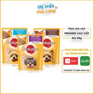 Thức ăn cho chó pate dạng sốt Pedigree 80g thơm ngon tiết kiệm thumbnail