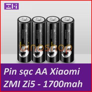 [Mã ELFLASH5 giảm 20K đơn 50K] Pin sạc AA ZI5 Xiaomi dung lượng 1700mAh